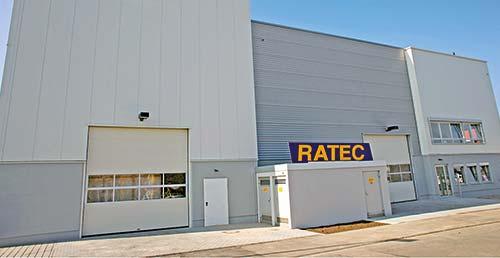 Usine RATEC RSP montauban Machines matériels armatures
